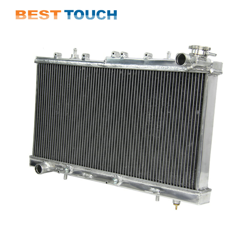 Auto Replacement Parts Automatic Attractive Designs; Oil Coolers 100% Quality High Quality Aluminum Radiator For Nissan Gu Patrol Y61 Petrol 3 Row 1997