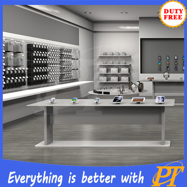 Electronic Store Furniture For Retail Shop Design