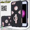 Hot selling Mobile phone case For iPhone 5 5S Electric wave line heavy duty shock proof silicon stand case