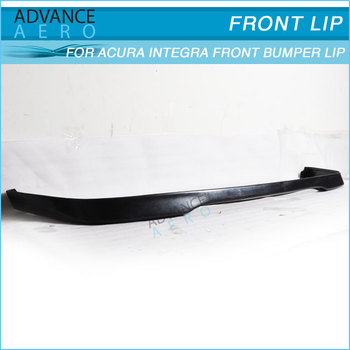 For 92 93 Acura Integra T-r Style Pu Front Lip Auto Parts ...
