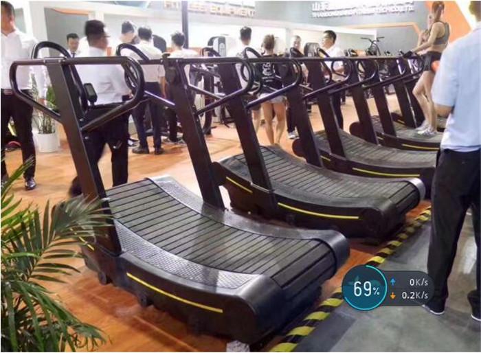 Commercial Speedfit Tredmill Fitness Sans Moteur Même Schéma Avec