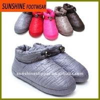 Pu Leather Ladies Indoor Slippers