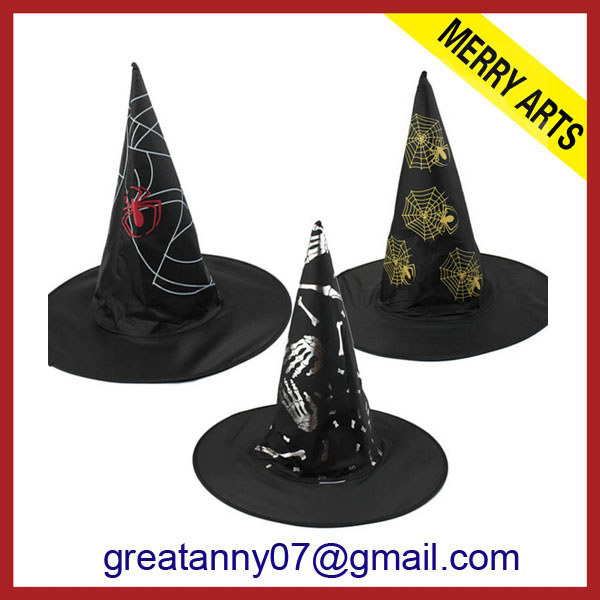 2014 new design decoration halloween pumpkin hat costumes halloween costumes top hats
