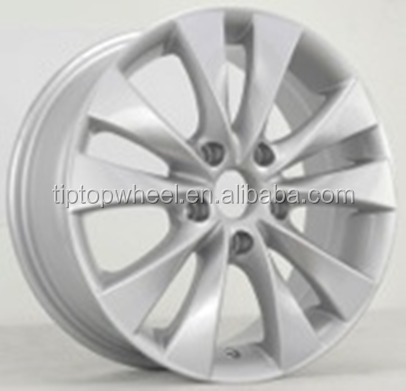 chrome wire alloy wheels fit for toyota, honda, nissans, benzs, vw 16x6.5 wheels rims