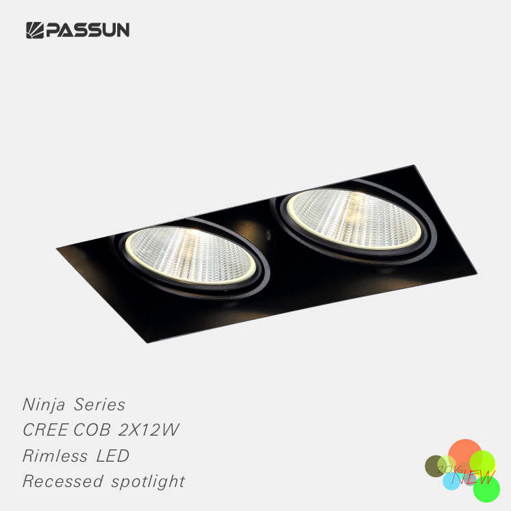 Super Quality Twin Heads Recessed Spot Light Modern Buy