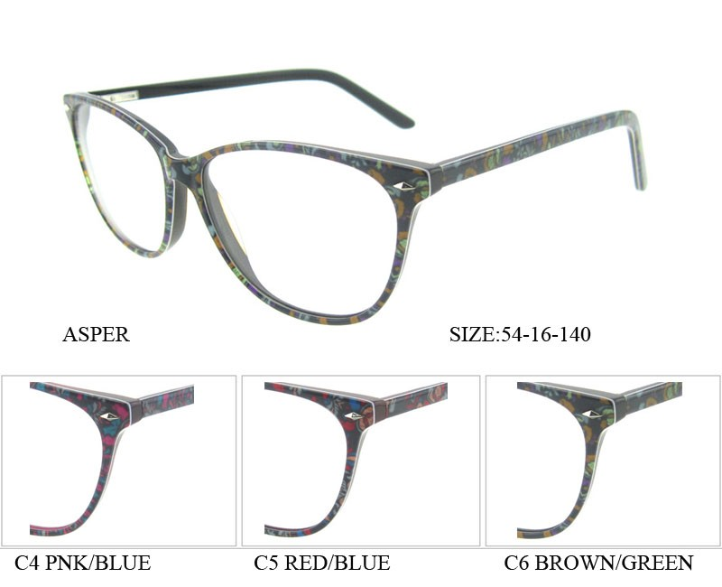 New Stylish Glasses Frames For Girls Fashion Handmade Acetate ...