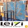 Top quality natural polished blue onyx marble tile