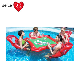Inflatable Floating Pool Poker Table Inflatable Floating
