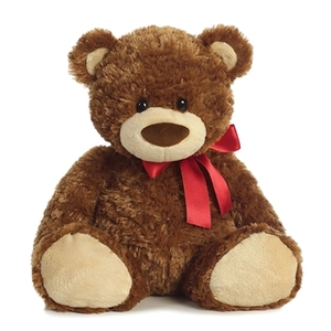 Teddy Bear soft plush toy Slumbers Bear/ Plush Brown Teddy Bear / Plus Stuffed Bear