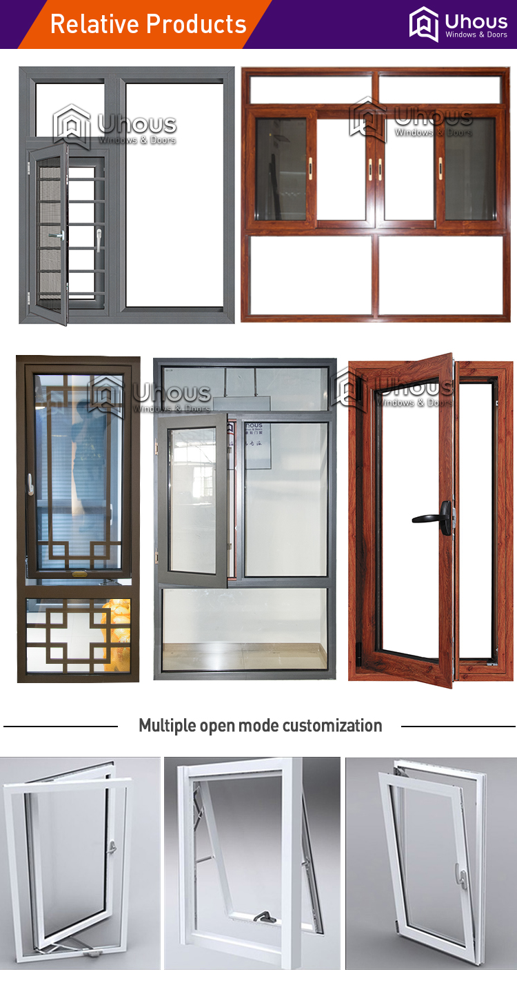 2018 latest windows designs foshan manufacturer aluminium screen windows
