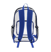 fashion good transparent clear pvc backpack wholesale