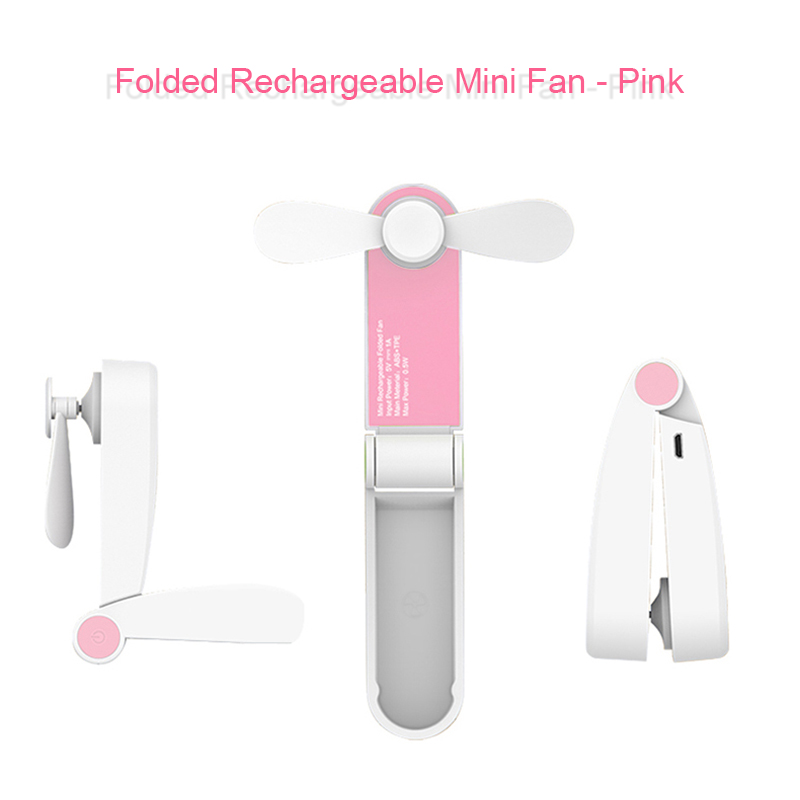 Foldable Stand Cooling Fan For Summer Travel
