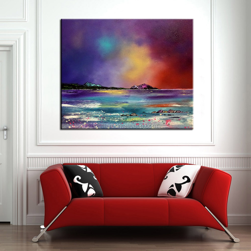 Painting For Bedroom famous artist handmade midnight magic abstract canvas oil painting
