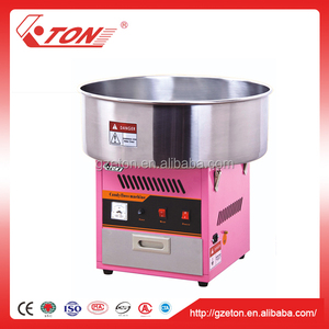 CE Certificated Commercial Cotton Candy Floss Machine and Bubble Cover