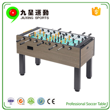 factory mdf tournament soccer table 2017 high qiality wooden football table game