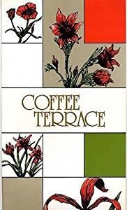 Coffee Terrace Menu Hyatt Regency Hong Kong China 1982 Spanish French German