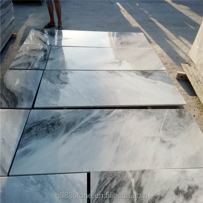 Natural stone flooring tiles silver grey marble