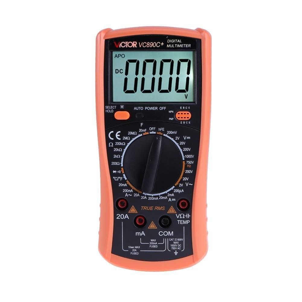 UniHappy multimeter Digital Multimeter True RMS 2000UF Capacitor Temperature Measurement Meter
