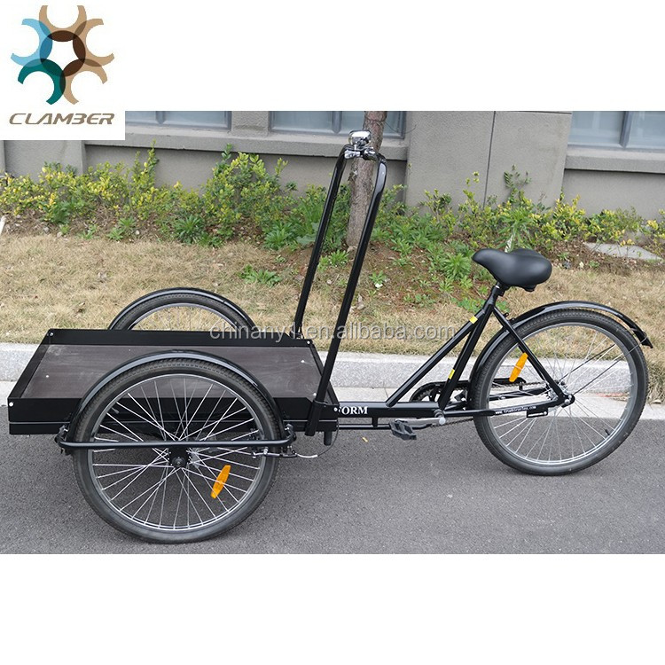 Nanyang Triciclo/Platform bicycle/cargo bike tricycle for cargo C-UB9027PB