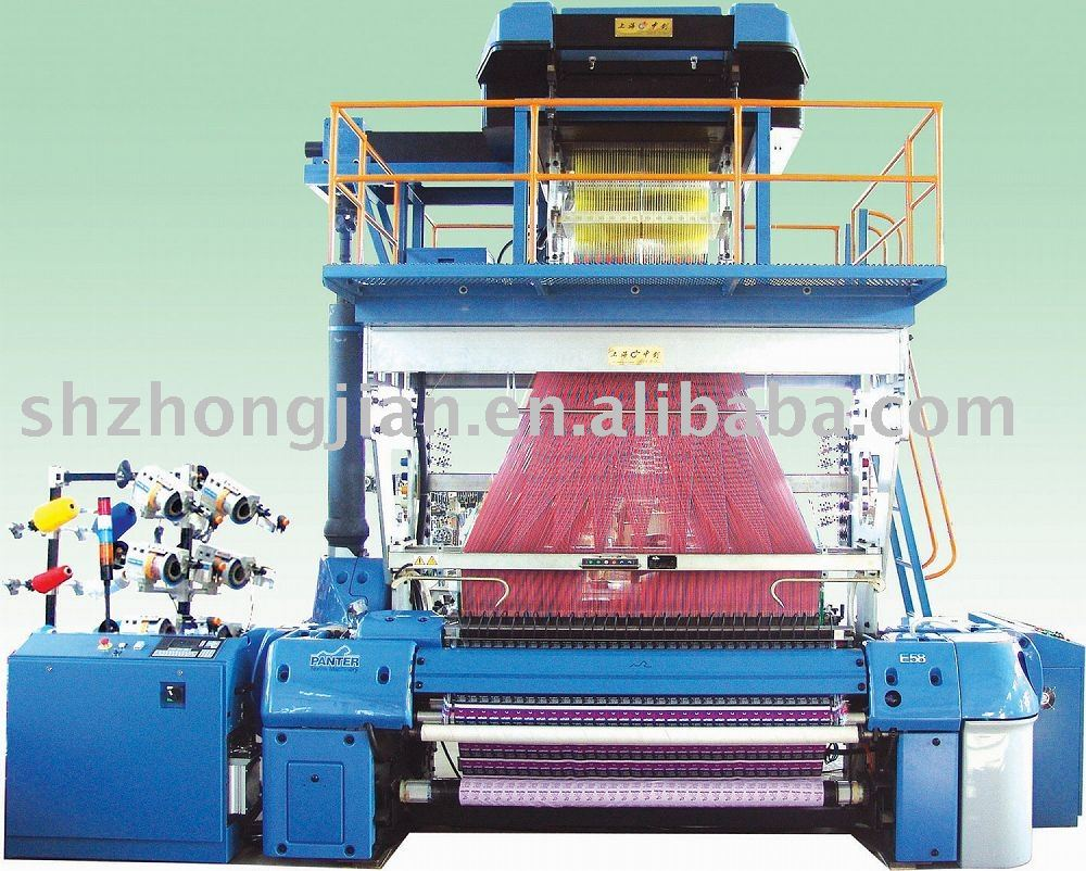 Label Weaving Machine