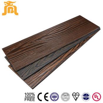 Exterior Wall Finishing Wood Trim Fiber Cement Siding Boards