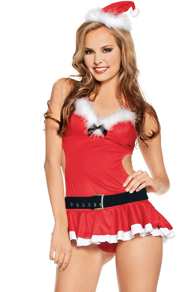 Get Quotations · 2015 New Sexy Christmas Costumes Miss Santa Lingerie  Costume LC7242 52029fe15
