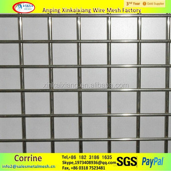 Extensively In Building Hot Dipped Galvanized Welded Mesh,1/4\'\' Hole ...