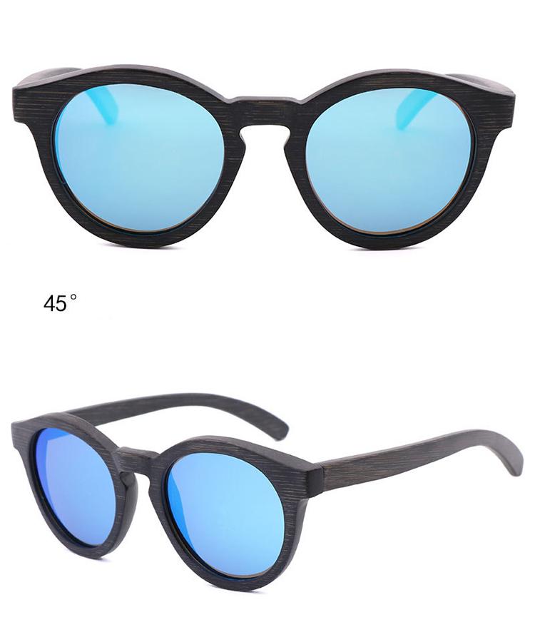 CAOSHI Resin Lens Oem Odm Dropshipping Men Women Fashion Dark Bamboo Sunglasses Polarized 2019