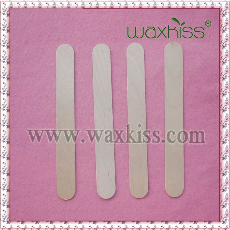Beauty Disposable big Wooden Waxing Application Spatulas