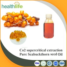 Factory supply Co2 supercritical extract Pure seabuckthorn seeds oil