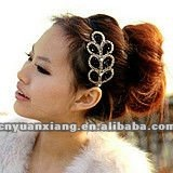 2012 Hot selling hair accessories decorative bridal wedding hair bands