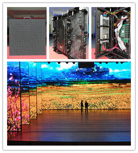 Led screen dj rental use outdoor p4.81 led display panel