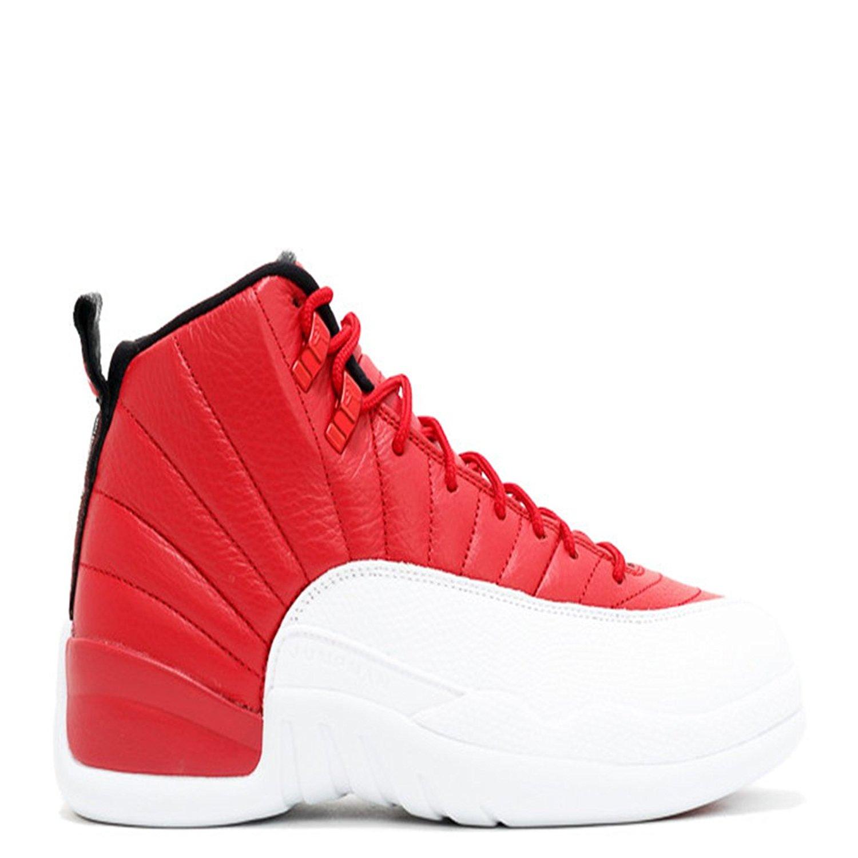 c0b586a1e73 Get Quotations · air jordan 12 retro gym red gym red white black basketball  shoes