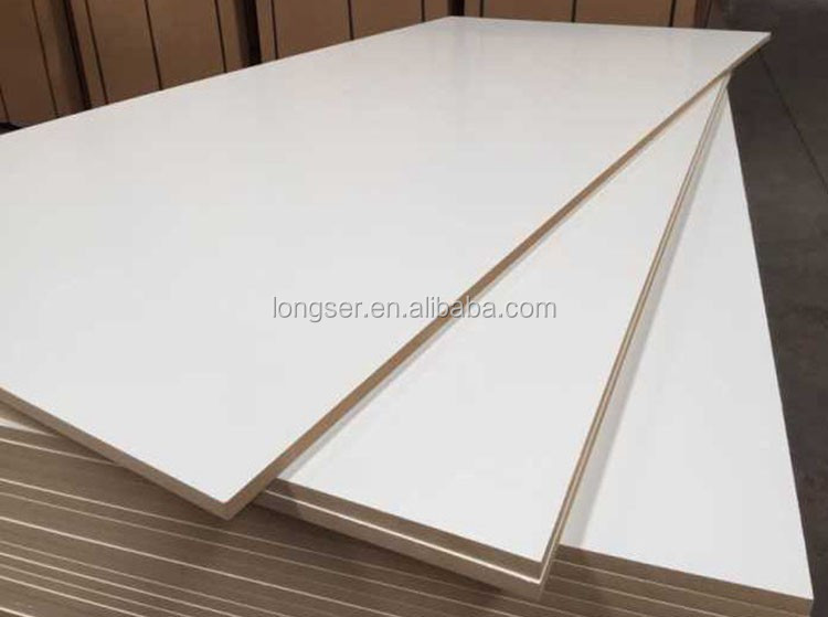Cabinet Used 18mm White Laminated Melamine Mdf Board Buy