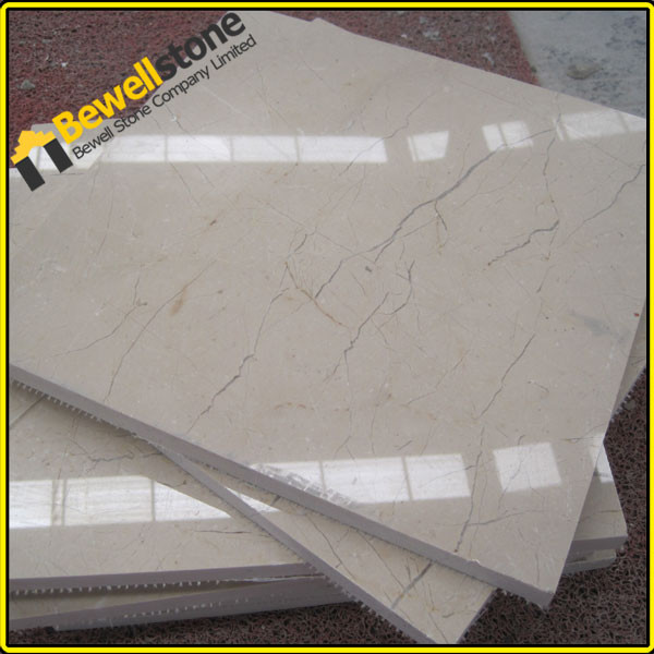 Crema marfil marmer gelamineerd honingraat aluminium tegels, maat ...