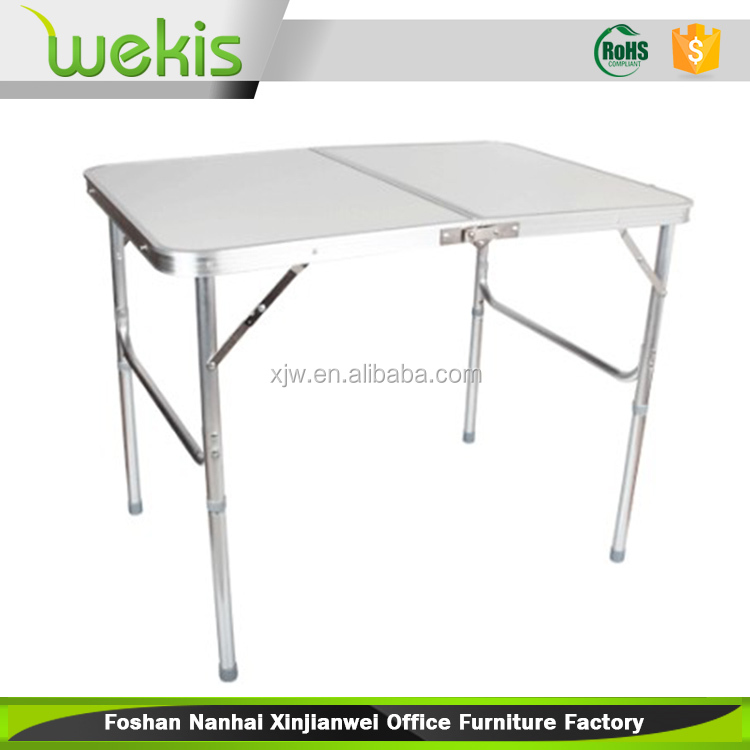 2015 Best Selling New Design Office Intelligent white Folding Table Without Umbrella