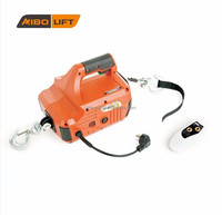 Portable AC pulling and lifting tool, mini electric winch