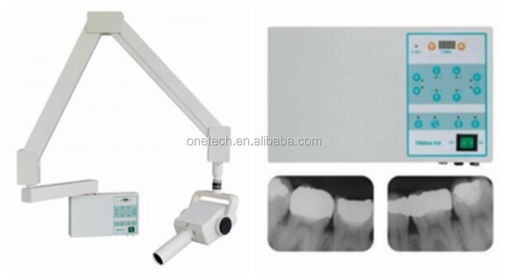 Delicate Portable Dental X Ray Machine Convenient Used