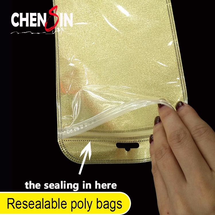 12.5*21cm clear ziplock Sealable Press Seal bags packaging plastic bags for gauze mask