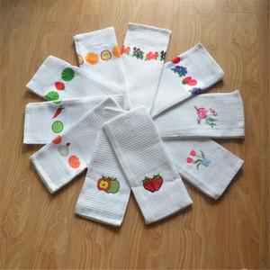 2017 High Quality Kitchen Towel Embroidery Blank Walf Checks Design Custom  Printed Towels