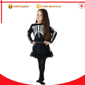 cosplay party city horror puffy halloween costumes girls scary skeleton costume