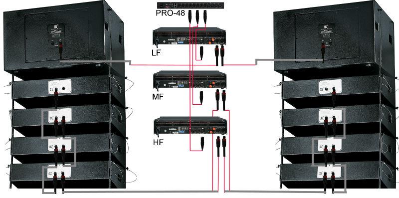mini active line array speaker dual 8 two way active. Black Bedroom Furniture Sets. Home Design Ideas
