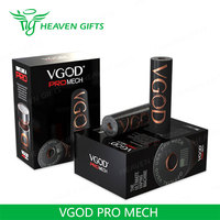 HeavenGifts Supplier 24MM diameter VGOD PRO MECH e cig mods for sale
