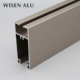 manufacturer aluminum alloy 6063 glass door and window frame aluminium construction material