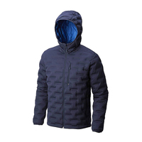 China Supplier OEM Custom Seamless Welded Jacket 90% Down 10% Feather Men Jacket