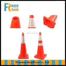 Plastic traffic safety cone