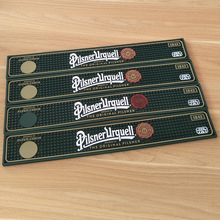 Bar Mat for Beer and Drink Promotion Custom Logo Rubber Bar Mat