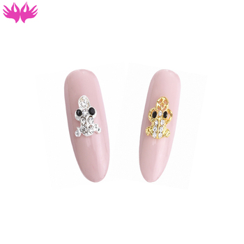Wholesale 3d Cat Fox Dog Fish Butterfly Nail Art Decoration Handmade