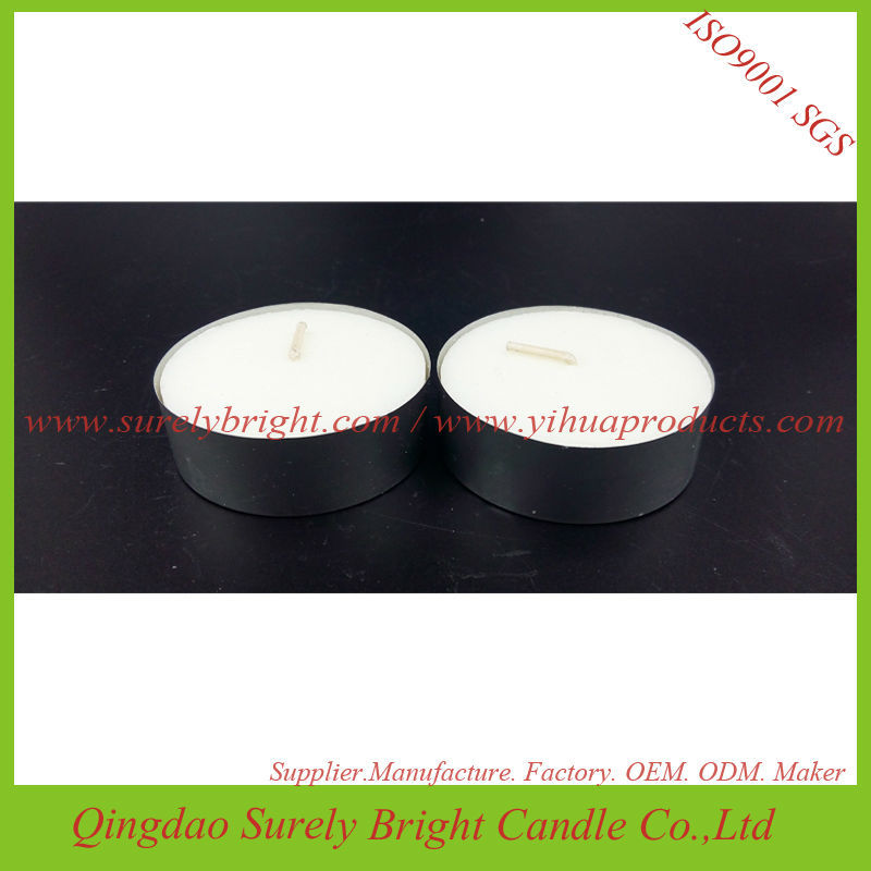 SURIGHT Paraffin Wax  White Scented  Tealight Candles