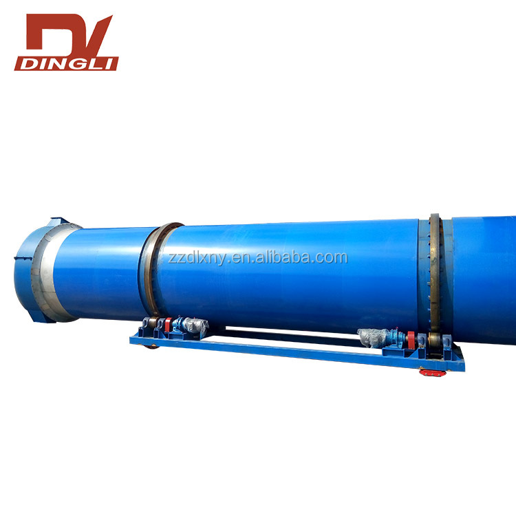 Small Cost Dry Evenly Fresh Forage Rotary Dryer on Sale